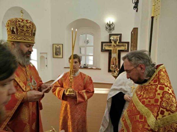 Игумен Савин был удостоен Патриаршей награды